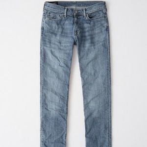Abercrombie &  Fitch Kennan Straight Leg Jeans